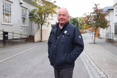 RUTINERT: Bjørn Helge Hansen har jobbet med sykehusprosessen siden 1995.