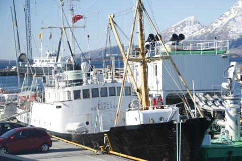 SKAL PÅ SLIPP: Gamle Helgeland skal etter planen på slipp for å få gjort stålarbeid etter nyttår. Stiftelsen håper å få sertifisert båten i løpet av våren og i drift i sommersesongen.
