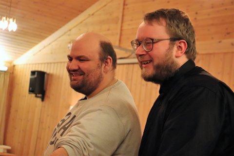 Øyvind Ottesen og Paul-André Eriksen Grande, har startet opp Helgeland Operakompani.