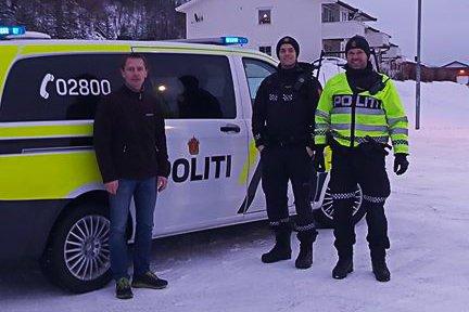 ALKOHOLVETT: La bilen stå om du er usikker på om du har promille, oppfordrer Einar Einmo, Av-og-til koordinator i Leirfjord kommune. Dette bildet er fra fjorårets kampanje med mål å skape gode holdninger hos voksne.