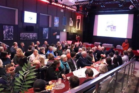 14. januar 2020 blir Alstahaug Næringsliv 100 år. Torsdag var det julelunsj for medlemsbedriftene, hvor de også  fikk en innføring i hva som vil skje i Sandnessjøen framover.