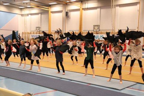 Skjalg Turn fra Brønnøysund var med på slutten av showet.
