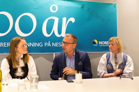 Jenny Myklebust, Bård Anders Langø og Hanne Davidsen.