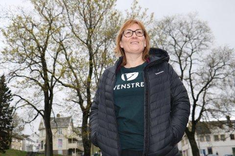VIL HA LISTE OVER SAKER: Venstres ordførerkandidat i Alstahaug, Hanne Nora Nilssen, har vært engasjert i sykehussaken og ønsker mest mulig åpenhet rundt prosessen.