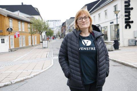 KRITISK: Hanne Nora Nilssen stiller spørsmål ved den bebudede vurderingen om varslerne i Helgelandssykehuset har opptrådt forsvarlig.