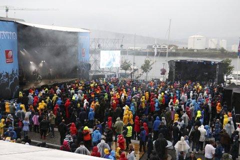 Godværet var mangelvare på Havnafestivalen 2017 og 2018.