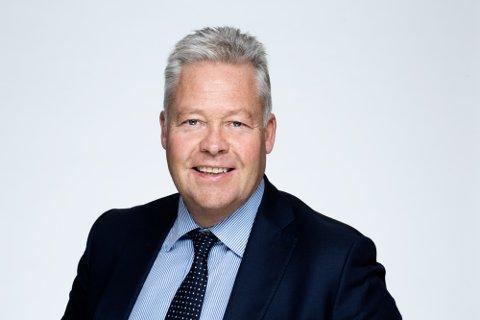UTBYTTE: Konsernsjef Helge Leiro Baastad forteller at utbytte vil være et positivt bidrag for mange i en annerledes tid.
