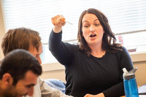 Kathrine Øines Dishington Johnsens har stått sentralt i aksjonen på Nesna og er nominerte sammen med Wanja Skog Hermansen, Aurora Hoff-Blyseth og Fay-Reneé Olsen Waag.