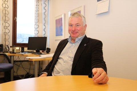 Gode tider: Peter Talseth tjener best blant ordførerne på Helgeland.