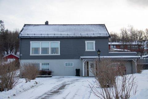 DYREST: Foged Falchs vei 56 på Sandnes var den dyreste boligen i HALD-kommunene i februar.