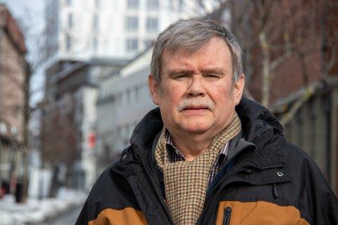 TROND SOLFJELD: Pensjonert teleingeniør og langvarig Røde Kors-medlem gjennom 55 år.