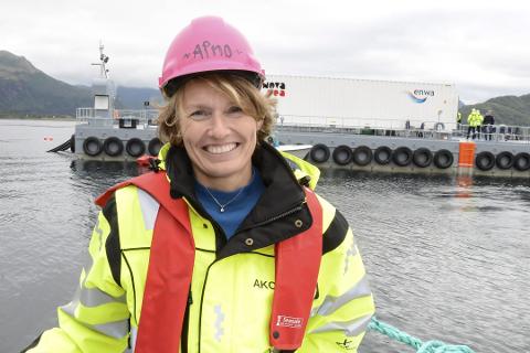 Aino Olaisen er en av de største eierne av Nova Sea på Lovund.  Nova Sea vurderer nå om de skal starte opp med en ny lokalitet i Alstahaug kommune.