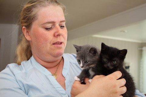 GRUSOMT: Leder for Kattens SOS, Line Larsen forteller at det har vært flere tilfeller av katter som er sportløst forsvunnet det siste halve året.