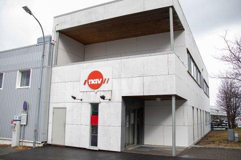 NAV: Her er kontoret i Sandnessjøen avbildet.