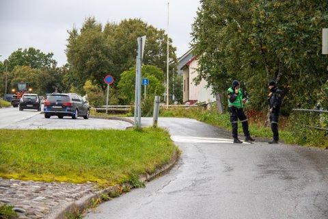 SYKKELVELT: Syklisten skal ha veltet i krysset Kittelsens gate og Novikveien, ikke langt fra Sandnessjøen videregående skole.
