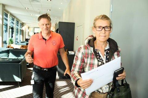 Administrerende direktør i Helgelandssykehuset Hulda Gunnlaugsdottir ber om ro i saken rundt tarmkreftkirurgien i Sandnessjøen.