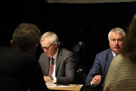 Ordfører Peter Talseth (Sp) kan ikke love kantine og leskur til elevene ved Bjarnetjønna skole.