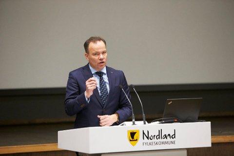Fylkesrådsleder Tomas Norvoll (Ap).  Ap, Arbeiderpartiet