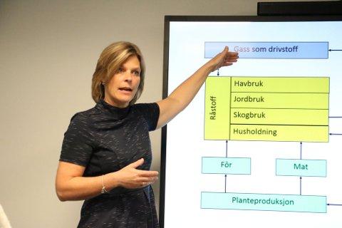 Det er forsker Vibeke Lind som har laget rapporten om lønnsomme og miljøvennlige biogassanlegg.