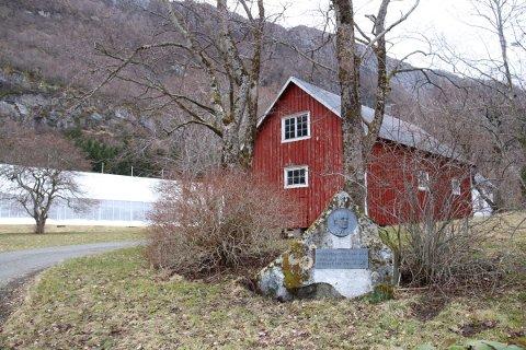 RIKT OMRÅDE: Skeilia naturreservat ligger i den sørvendte lia ovenfor Alstahaug Planteskole opp mot Storfjellet.