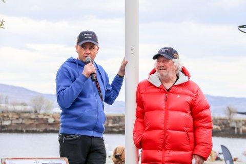 AVLYST: Her er messegeneral Odd Petter Olderskog Leknes sammen med Ragnar Kvam jr. under åpningen i 2019. I år blir det ikke noe av arrangementet.