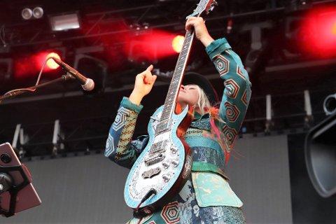 """Unni Wilhelmsen har tidligere spilt på Havnafestivalen med Di Derre. Nå kommer hun tilbake for å spille i åpningshelga for """"Havna på Kaia""""."""