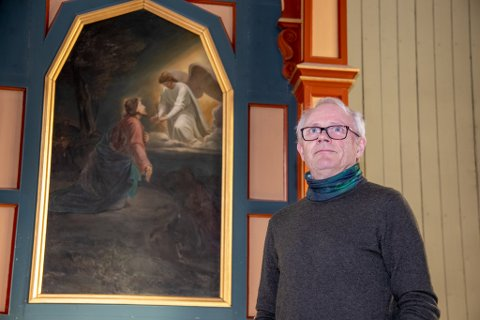 JESUS-JAKT: Prost Olav Rune Ertzeid skal denne høsten reise og treffe folk i Norge som heter Jesus til fornavn.