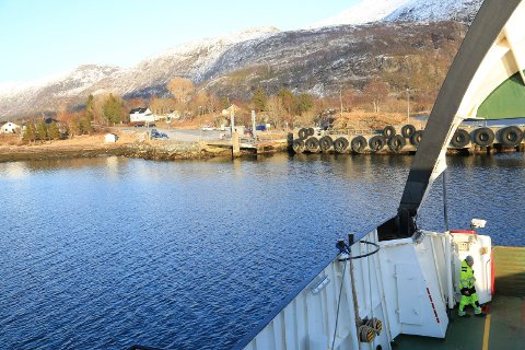 Levang ferjekai i Leirfjord blir stengt i juni.