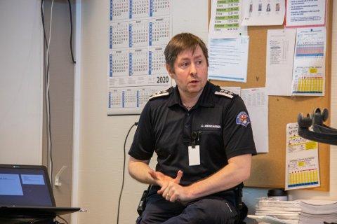 Brannsjef for Ytre Helgeland brann og redning, Dagfinn Ness Andreassen, er glad for at politikerne har prioritert ivesteringen av en brannlift. - Det er en viktig investering og vi er takknemlig for det, sier han til iSandnessjøen.