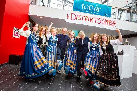 SPENT: Catrine Hole tror denne utdanningskonferansen kan bli en av de største politiske debattene på Helgeland før valget.