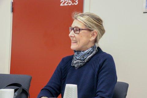 KAN SMILE: Administrerende direktør Hulda Gunnlaugsdottir i Helgelandssykehuset. Her er hun avbildet ved en tidligere anledning.