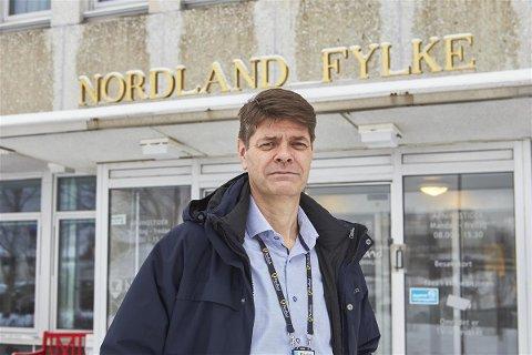 Odd Inge Bardal, fylkesdirektør for transport og infrastruktur.