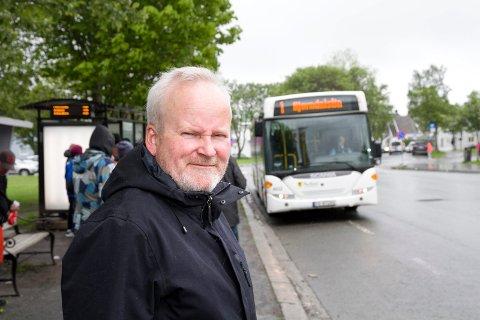 Administrerende direktør, Anders Mjaaland, i Nordlandsbuss AS.