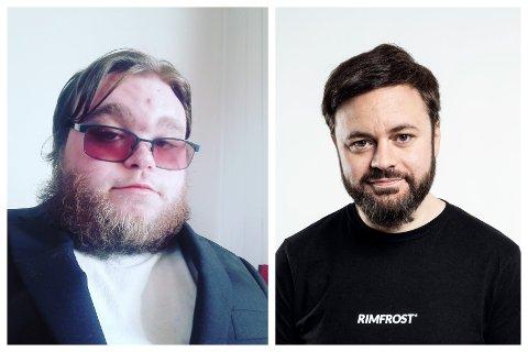 VENNER: Daniel Furre og Dag Sørås har kjent hverandre en stund. Nå får førstnevnte muligheten til å debutere som som standup-komikere som oppvarmer for sistnevnte.