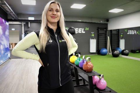 Elisabeth Nilsen er ansiktet utad for det nye treningssenteret Feel24. Som nyansatt leder