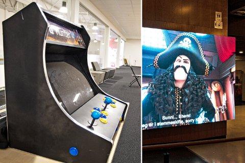 BRYNE: Mens dataspill skal lokke ungdommene til kjøpesenteret M44 de neste dagene, tror kinosjefen at Kaptein Sabeltann blir en høstferie-slager.