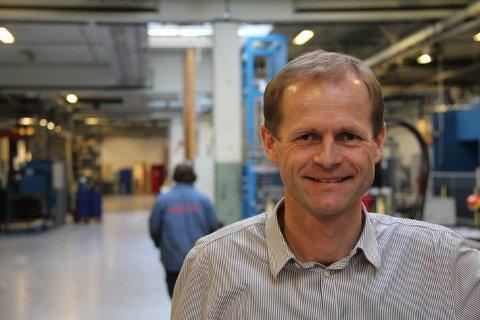 FERDIG I JOBBEN: Etter over 20 år i Øglend System Group, er det den 30. juni slutt for Geir Austigard i den Klepp-baserte bedriften.