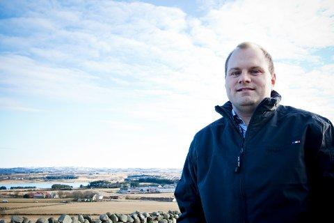 SATSER PÅ FORUS: Viggo Tjelta er nummer tre på formuestoppen i Klepp kommune. Han hadde kommunens tiende høyeste inntekt i 2018, og bare tre personer betalte mer skatt enn 38-åringen.