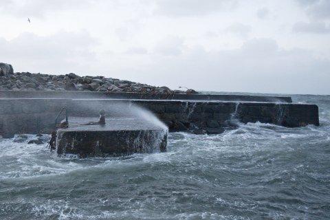 LITEN KULING: Torsdag kveld blir det kraftig vind på Jæren.