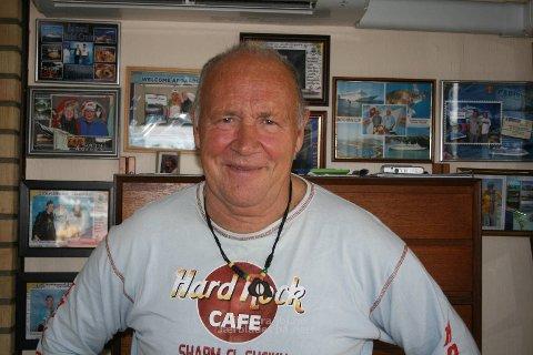 Cruiseturist: Bak Gaute Opstad henger bevis på mange ulike turer med cruise. Han er bitt av basillen, og de neste fem turene er klare.
