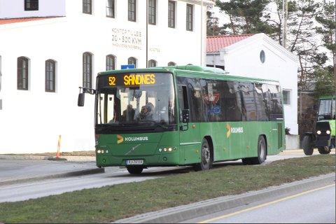 Buss 52 mellom Bryne og Sandnes blir dyrere på på grunn av nytt sone- og takstsystem