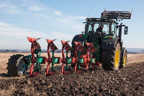 Slik ser det ut når en i-Plough er i aksjon.