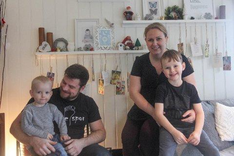Terminen er ved inngangen til året om lag to månader unna. Då sluttar Nora Amalie seg til familien.