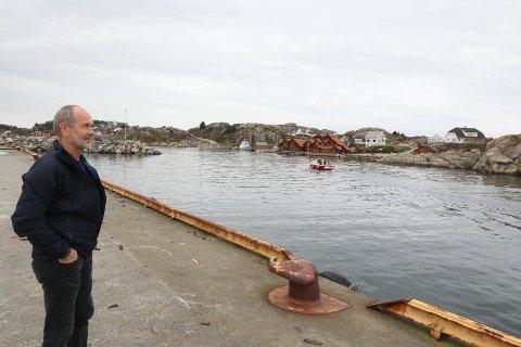 STYRELEIAR: Jonas Skrettingland er styreleiar i Sirevåg hamn.