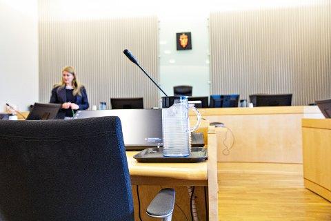JÆREN TINGRETT: Tysdag tok mellom anna faren til Sunniva Ødegård plass i vitneboksen i tingretten. På bildet ser me aktor i saka, statsadvokat Nina Grande.