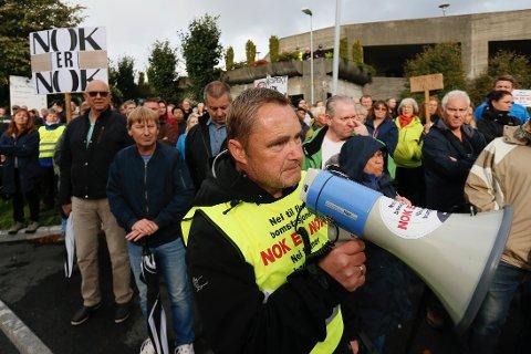 BOMGENERAL: Sigurd Sjursen sier bommotstand må holde seg innenfor lovverket.