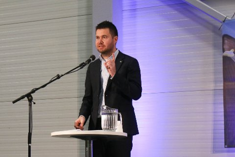 ATTVAL: Geir Pollestad ynskjer attval til Stortinget.