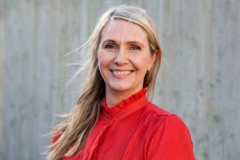 Sara Frostadottir Sigmundsen, leiar i Time Arbeidarparti.