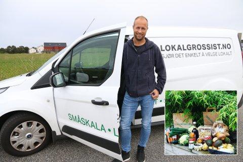 KORTREIST: Jo Åge Undheim har tro på sitt nye konsept om å forenkle kjøp av kortreist mat.
