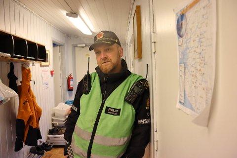 GOD FORM: Innsatsleder Kjetil Østrått forteller at de savnede var i god form da de ble funnet.